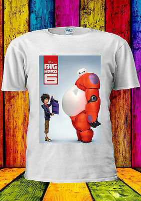 Disney Big Hero 6 Baymax Hiro Robot T-shirt Vest Tank Top Men Women Unisex 382