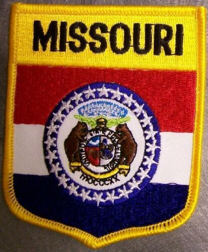 Embroidered USA State Patch Missouri NEW bunting