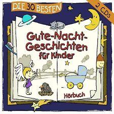 DIE 30 BESTEN GUTE-NACHT-GESCHICHTEN FÜR KINDER 2 CD NEU