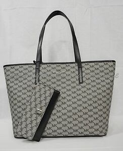 1ad5518f21c4 SET Michael Kors Studio Heritage Signature EMRY Large Top Zip Tote.+ ...