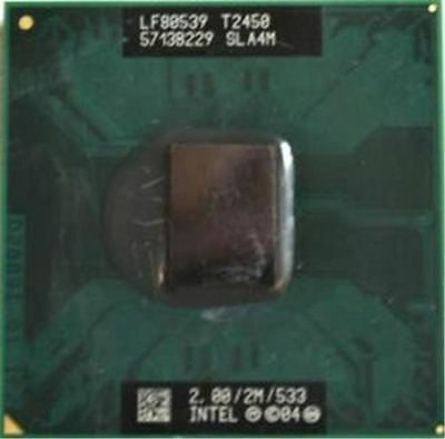 Intel Mobile Core 2 Duo T5870 2.0GHz 2M 800FSB sP LP CPU SLAZR
