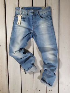 Rrp-265-Nuovo-Jeans-Diesel-Uomo-Buster-0666R-Regular-Slim-Tapered-Stretch