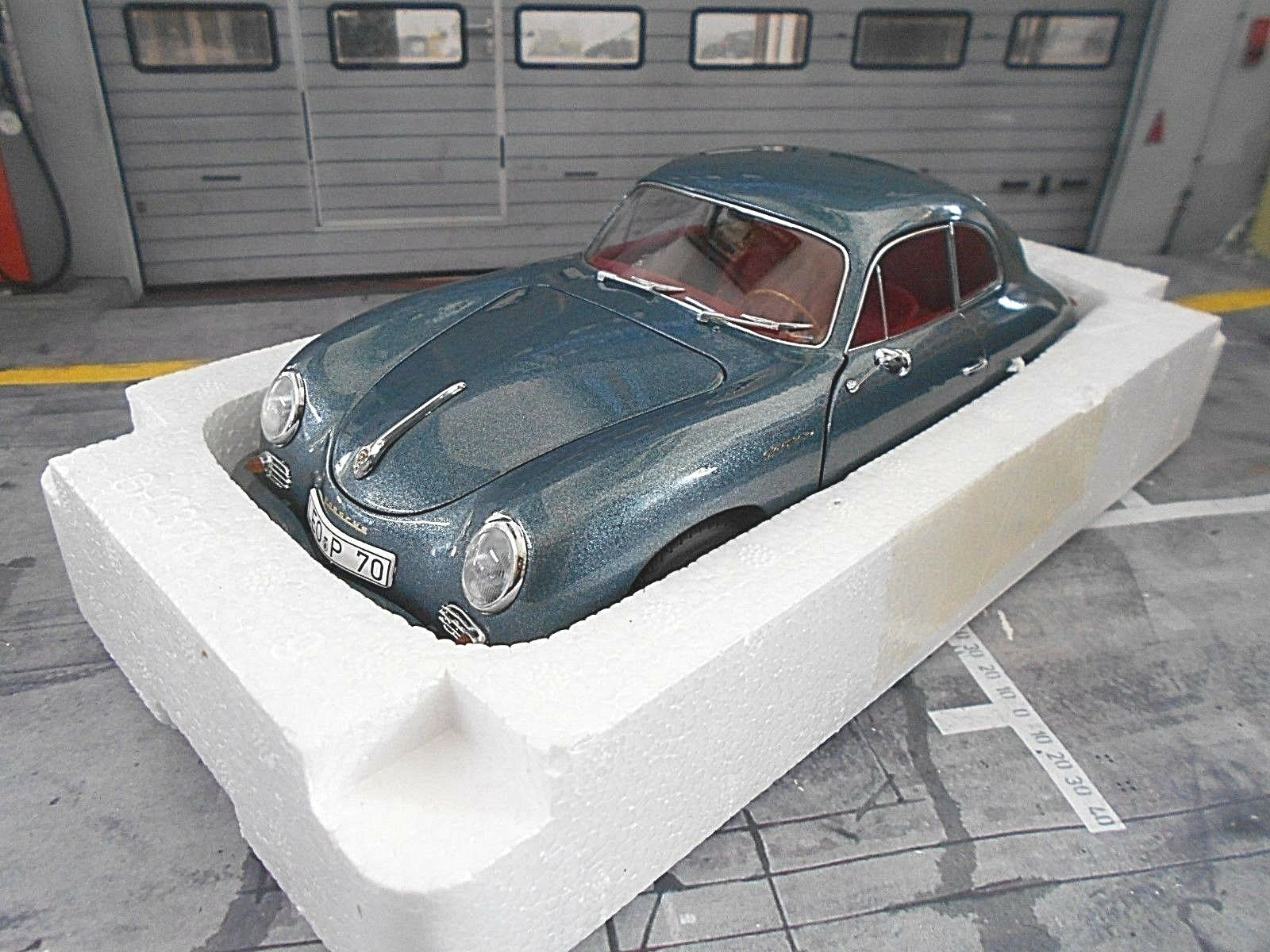 Porsche 356 A voiturerera Coupe  70  ans Porsche  Bleu bleu Met NEUF SCHUCO 1 18  meilleure réputation