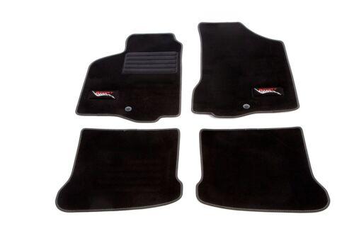 Premium Veloursmatten mit Logo passend für Seat Ibiza ab Bj 09//99 bis 03//02 6K
