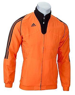 SALE adidas T12 Team Jacke für Herren, Team Wear Jacke schwarzorange | eBay