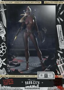 DEADPOOL-Lady-SEXY-Wanda-Wilson-Dark-City-Var-A3-Comic-Print-Marvel-Deadpool