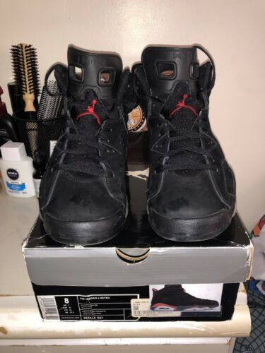2010 Retro 6 Varsity Red Black Air Jordan 2DHE9I