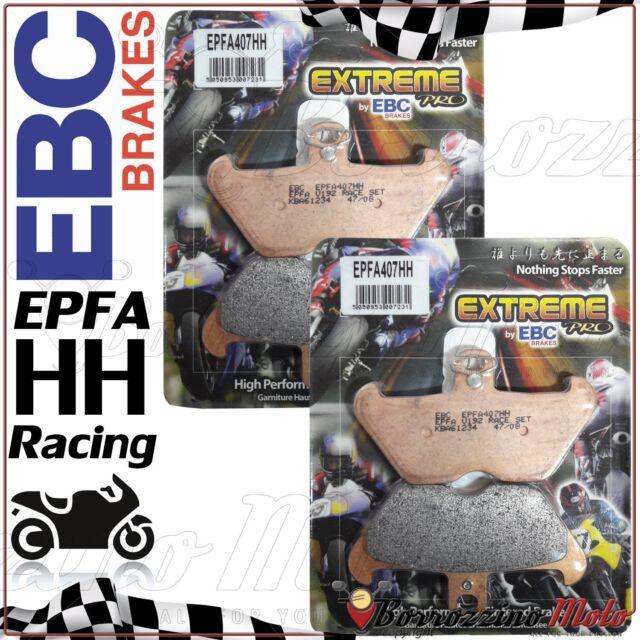 PLAQUETTES DE FREIN AVANT EBC RACING EPFA407HH BMW R 1100 RT ABS 1997 1998 1999
