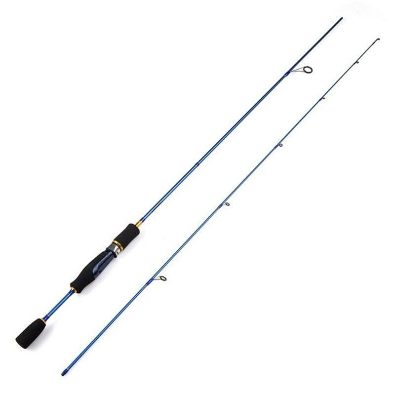 UL Spinning Rod 1.8m 1.5-5g Lure Weight 3-7lb Line Ultralight Carbon Lure Cheap