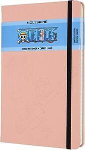 Moleskine one piece Color Rosa Cuaderno Rayas Ed. Limitada 13x21 CM 240 Páginas