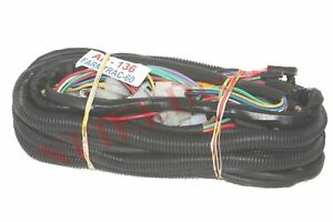 New Complete Wiring Harness Loom embly For Farmtrac 60 ... on