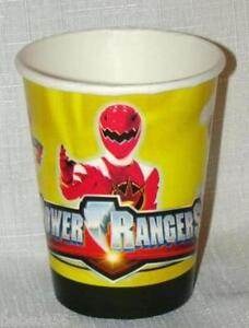 NEW-POWER-RANGERS-8-PAPER-CUPS-PARTY-SUPPLIES