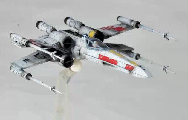 Estrella Wars X-Wing Estrellafighter Revoltech Acción Figura KAIYODO