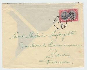 3c Royal Visit stamp preferred surface rate to FRANCE 1939, Canada cover
