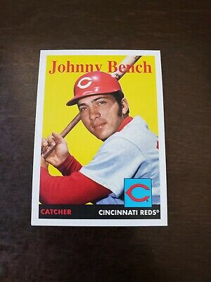 2020 Topps Archives #274 Johnny Bench