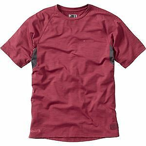 Madison Roam marl men/'s short sleeved jersey blood red large
