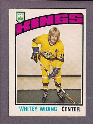 1976-77 O-Pee-Chee OPC Hockey Juha Whitey Widing #354 Los Angeles Kings NM/MT