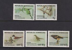 Dominican Republic - 1979, Birds set - MNH - SG 1378/82