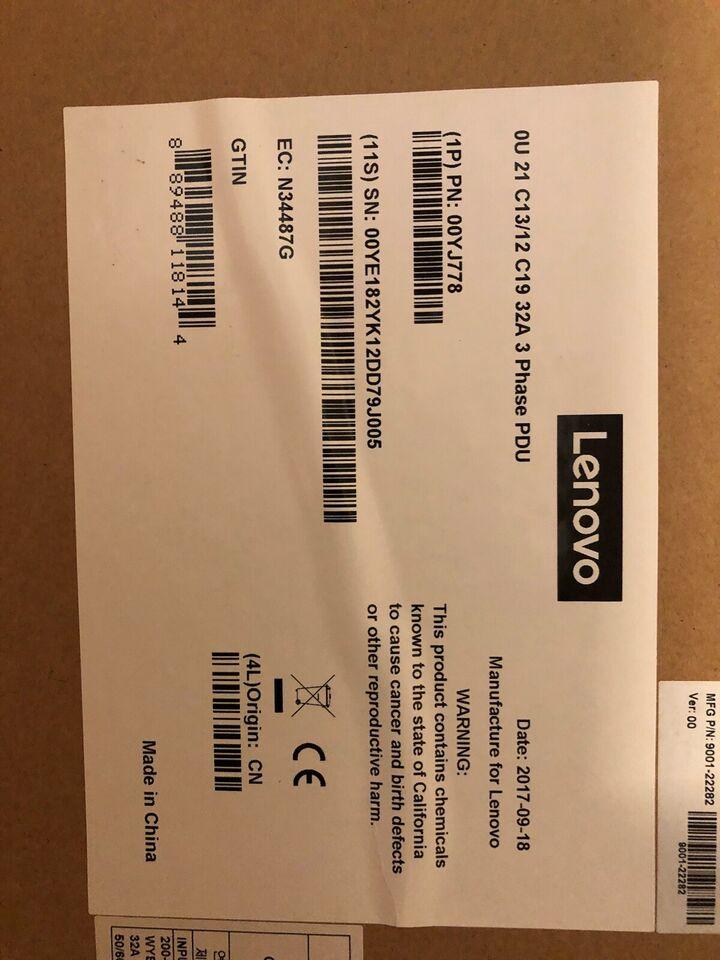 Strømforsyning, Lenovo, Perfekt