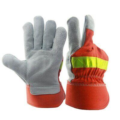 Welders Gauntlet Gloves Unisex Thorn Proof Heavy Duty Heat Resistant One Size