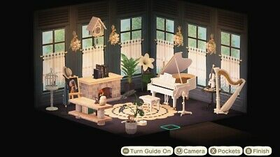 Animal Crossing New Horizons cute music / living room | eBay on Living Room Animal Crossing New Horizons  id=35365