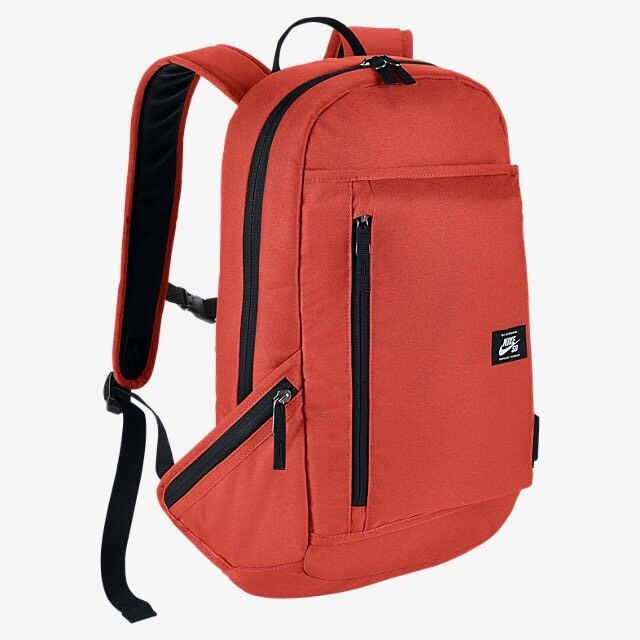 Nike Sb Shelter Skateboarding School Backpack Max Orange Ba5222 852 Ebay