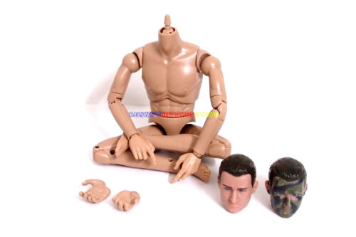 """New 1//6 Scale 12/"""" Inch Action Figure Male Body with 1 Head CHOOSE /& 4 Hands"""