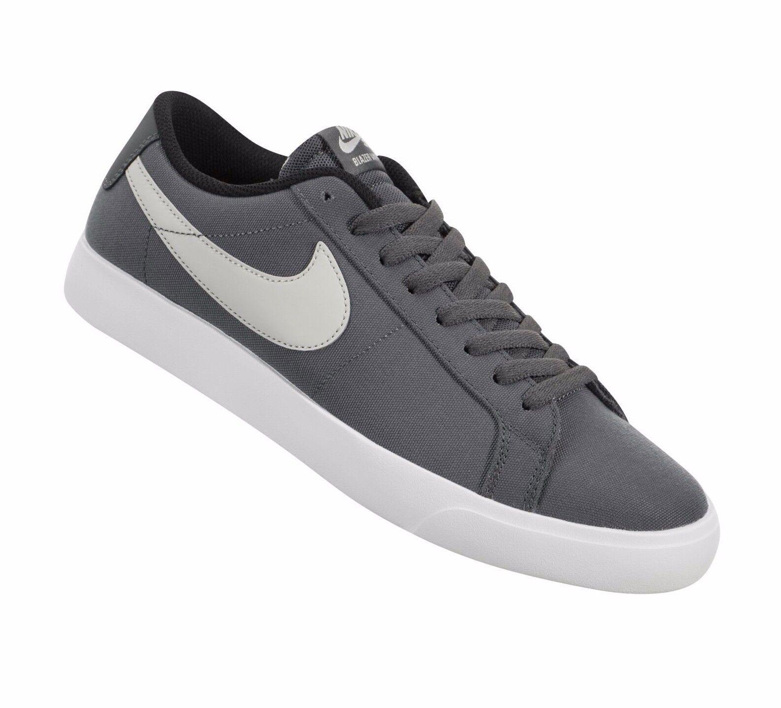 Nike SB Blazer Vapor Textile ® ( Men Größe UK 7 EUR 41 ) Dark  grau   Light Bone