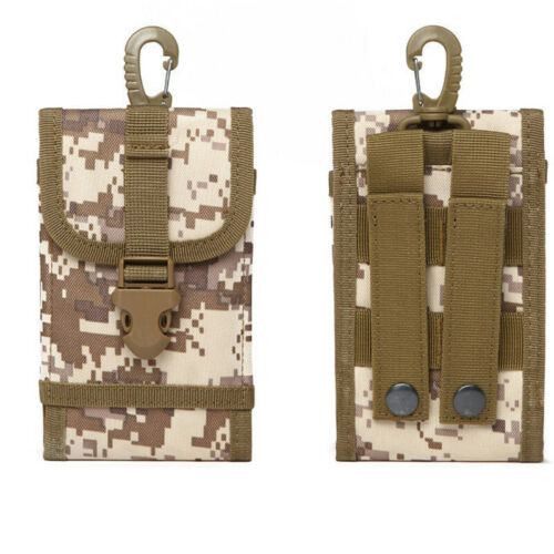 Tactical Camping Pack Pouch Hiking Military Cell Phone Waist BagWallet Belt Bag