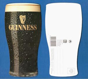 CARTOLINA-POSTCARD-VINTAGE-GUINNESS-PINT-GLASS-IRELAND-1980