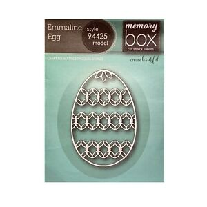 Easter Metal Die Cut Grand Egg Poppystamps Cutting Dies 829