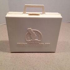 REPLACEMENT Vintage Fisher Price Micro Explorer Microscope Set Original Case