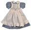 "Boneka abito con grembiule//dress with Pinafore for 49 cm//20/"" Maru Dolls"