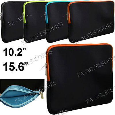 """15.6 """", 10.2 Laptop Neopren Tasche Tragetasche Für Notebooks"""