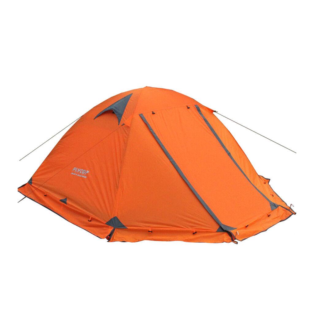 2 Person campeggio Tent doppio Layer Waterproof 3 Season Backpacre Dome Tent