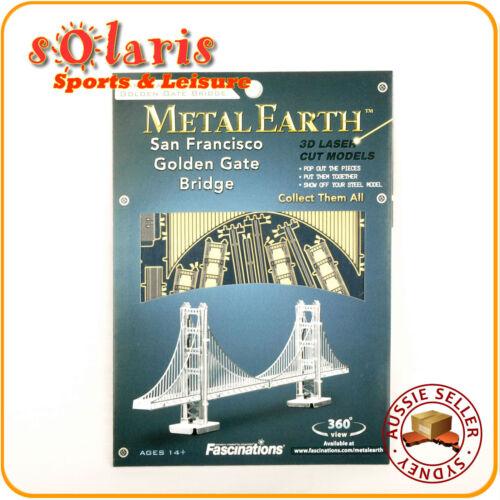 Fascination Metal Earth Golden Gate Bridge 3D Miniature Landmark Structure Model