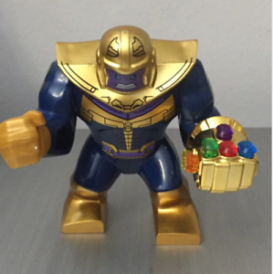 Infinity Hand Superhero Big Size Characters Marvel Lego MOC Thanos W