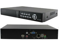 Nvr 4 Channel Cctv Network Ip Recorder P2p Cloud Mobile Phone Remote View