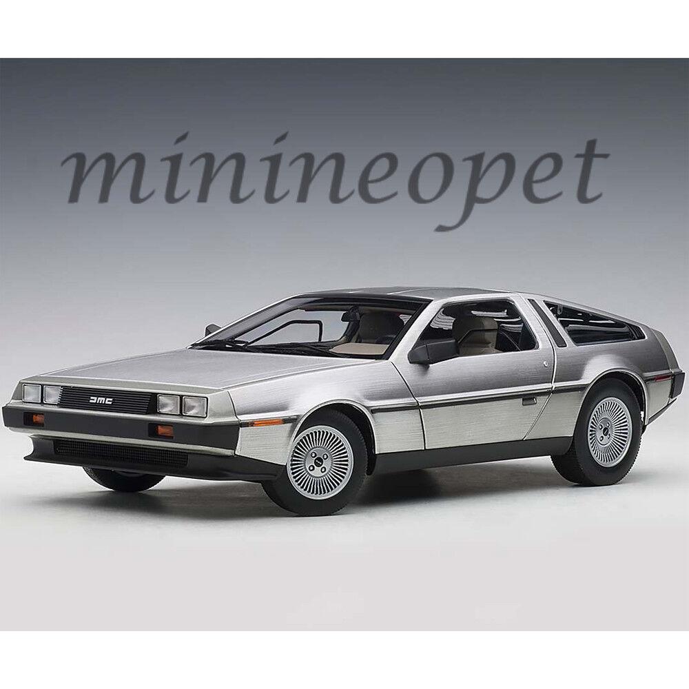 AUTOART 79916 DeLorean DMC 12 1 18 Voiture Modèle finition satinée