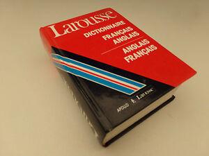 Larousse Dictionnaire Francais Anglais Anglais Francais 1993 Ebay