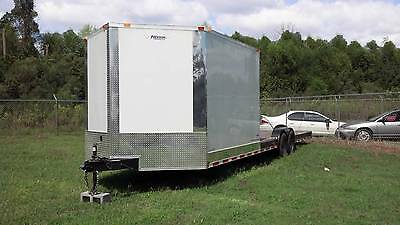 NEW 2019 8.5 X 30 8.5X30 HYBRID ENCLOSED & UTILITY CARGO CAR HAULER TRAILER