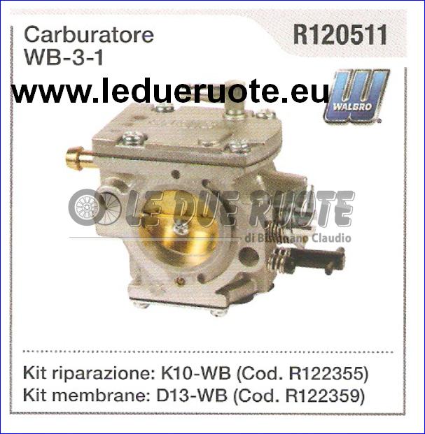 R120511 Carburettor Diaphragm Walbro Wb - 3 - 1