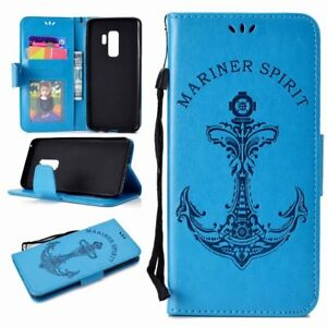 Luxury-Magnetic-Embossed-Flip-Strap-PU-Stand-Case-Wallet-Cover-For-Android-Phone