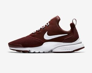 super popular 6a9b1 153ae ... NIKE-PRESTO-FLY-HOMME-Rouge-Kaki-UK-taille-