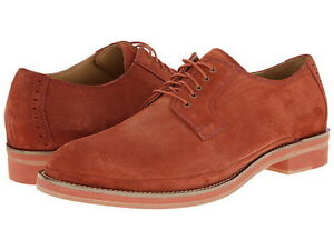 Brand-New-Cole-Haan-Men-039-s-South-ST-Plain-Toe-Suede-Oxford