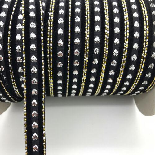 "DIY 5 yards 5//8/"" Sparkle Velvet Ribbon Headband Clips Bow Wedding Decoration"