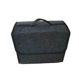 Portable-Gray-Felt-Car-Trunk-Cargo-Organizer-Storage-Bag-Accessory-Box-New-W9R7