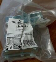 Triton Lochooks 55200 Curved Hook 2 I.d., 3/16 Stock- Brand In Package