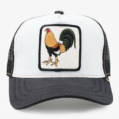 6e3f01a92 Gold Star Hat Animal Farm Snapback Trucker Hat Cap Rooster brown | eBay
