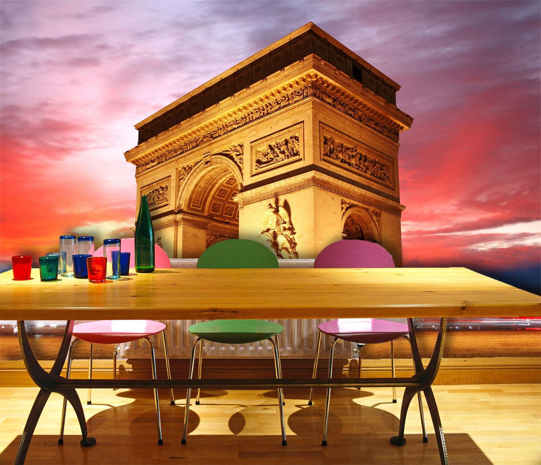3D Sky Triumphal Arch 835 Wallpaper Mural Paper Wall Print Wallpaper Murals UK